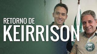 O atacante Keirrison retorna ao Coritiba, buscando continuar a grande história que tem e poder ajudar ainda mais o clube!