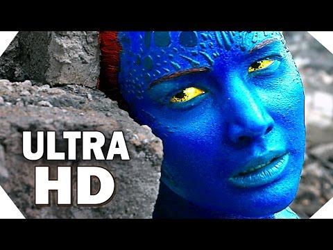 [ULTRA HD 4K] X-MEN Apocalypse TRAILERS Compilation (2016)