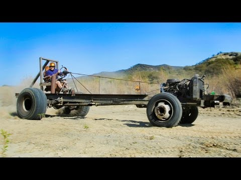 Motorhome Mashup Part 2: Monster Go-Kart Challenge! – Dirt Every Day Ep. 28