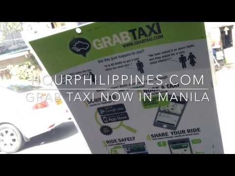 GrabTaxi Manila Philippines Tested and Approved Fastest and Safest Taxi App by HourPhilippines.com