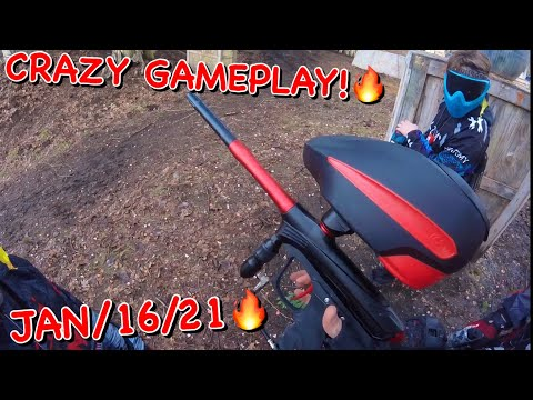 🔥PAINTBALL EP:5 | CRAZY RECBALL GAMEPLAY | KC CRUSADERS JAN/16/21🔥