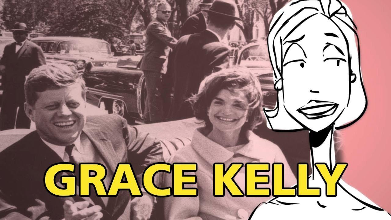 Grace Kelly on JFK