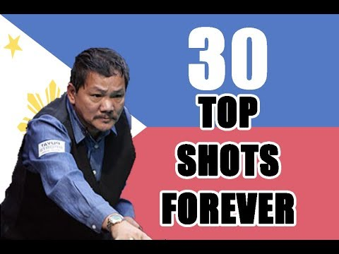 30 TOP SHOTS FOREVER With Magician Efren Bata Reyes