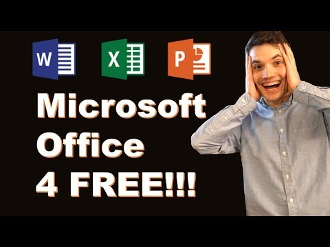 How to get Microsoft Word, Excel & PowerPoint for FREE!