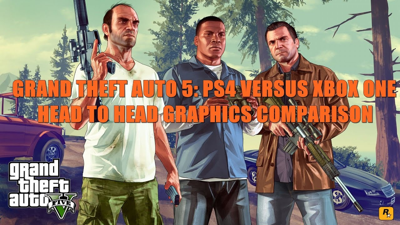 GTA V: Graphics Comparison (Xbox One Vs. PS4)