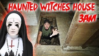 3am Challenge In The Haunted Witch House  I Gone Wr0ng Caught On Camera   Moe Sargi