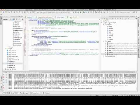 Spring Security 3.0 - Spring Security Demo from my Java Webapp Security Talk - http://raibledesigns.com/rd/entry/java_web_application_security_part1. Also see HD version at http:/...