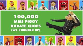 See the rise of Miss Piggy's legendary karate skills with all of her most impressive karate chops in one place.Subscribe for all new videos from The Muppets! ► http://di.sn/6002BJA1nWatch more of the best moments, music videos, and laughs from The Muppets! ► http://di.sn/6007BJ79RGet more from The Muppets!Disney: http://disney.com/muppetsFacebook: https://www.facebook.com/MuppetsTwitter: https://twitter.com/TheMuppetsInstagram: http://www.instagram.com/themuppetsWelcome to the Official YouTube channel for The Muppets! This channel is home to your beloved group of Muppet friends: Kermit the Frog, Miss Piggy, Fozzie Bear, Gonzo the Great, Animal, Beaker, The Swedish Chef, and more! Subscribe for some of your favorite and best film and television clips from The Muppets, as well as music covers and brand new comedy sketches.Check out exclusive Muppet parodies, Muppet music videos, Muppet song covers, comedy sketches, and more! Join in the fun with original Muppet comedy shows, TV promos, and charity PSAs.