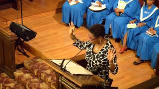 April 22, 2018 - Deacon Kenyetta Jackson