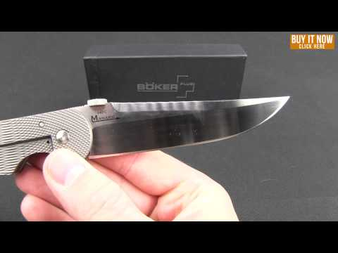 "Boker Plus Stingray Frame Lock Knife (4.125"" VG-10) 01BO148 Sal Manaro"