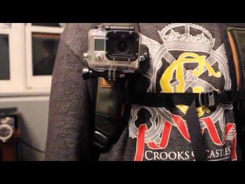 D.I.Y $10 GoPro Backpack Mount in 10 Min! (видео)