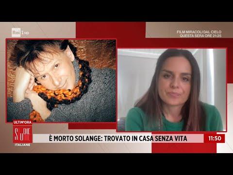 È morto Solange: il sensitivo è stato trovato in casa senza vita - Storie Italiane 08/01/2021