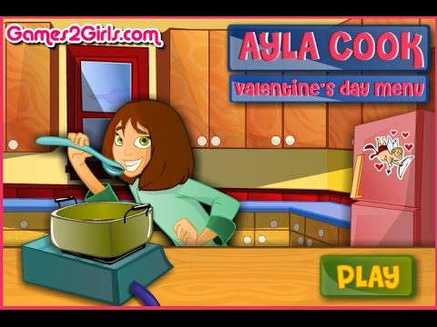 (Pc Browser) Ayla Cook Valentines Day Menu #4