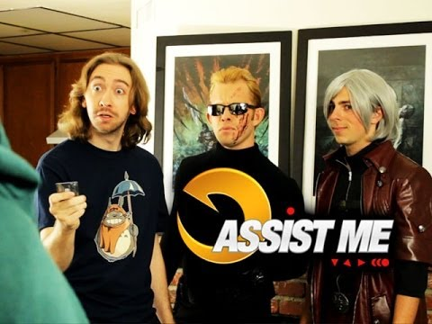 assist - Support UMVC3 Assist Me buy buying the Dante shirt! http://www.eightysixedclothing.com/keepin-it-stylish/ More BADASS shirts here! http://www.eightysixedclot...