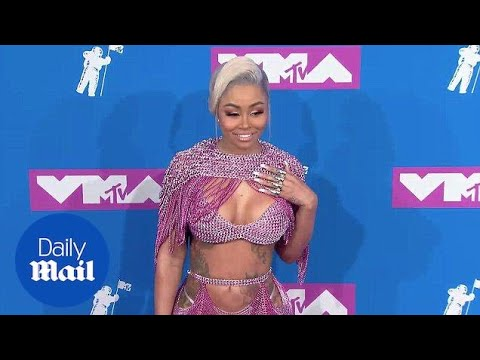 Blac Chyna leaves little to the imagination at the 2018 VMAs