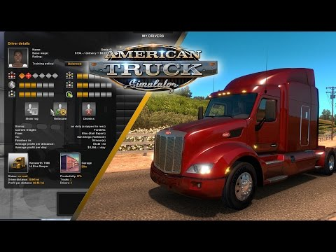 American Truck Simulator Game Features