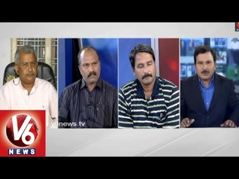 Seemandhra and T Employees Division Controversy  Sravan  7 pm Discussion