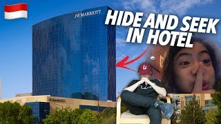 Video SIBLINGS HIDE AND SEEK IN A HOTEL (30 FLOORS) | Ranz and Niana MP3, 3GP, MP4, WEBM, AVI, FLV April 2019
