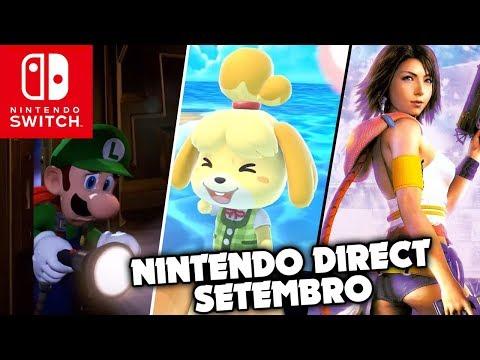 Tudo o que rolou na Nintendo Direct de 13.09.2018