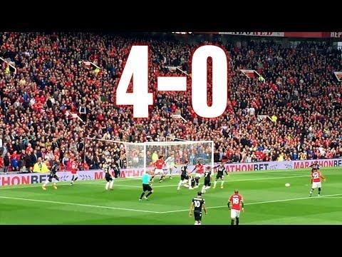 Manchester United vs Crystal Palace - 4-0, Premier League, 30.09.2017