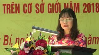 TP Uông Bí phát động Tháng hành động vì bình đẳng giới và phòng, chống bạo lực trên cơ sở giới năm 2018