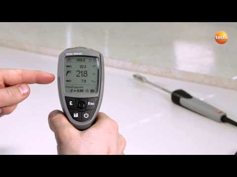 Professional Infrared Thermometer testo 835 - Step 5 - How t