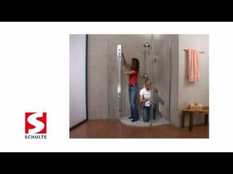 MasterClass-Duschkabine Montage | Schulte