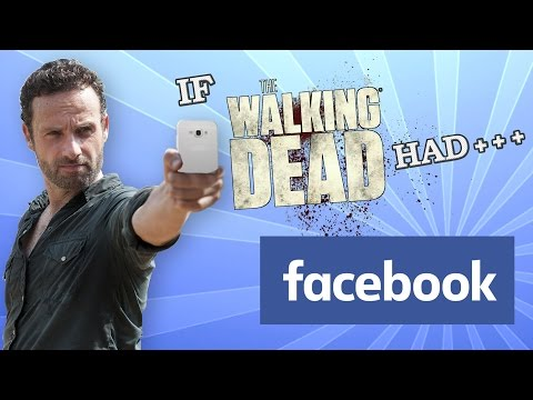 If The Walking Dead Had Facebook