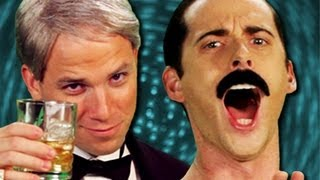 Frank Sinatra vs Freddie Mercury. Epic Rap Battles of History