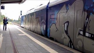 Bremen Graffiti Trains #2 - Wholecars