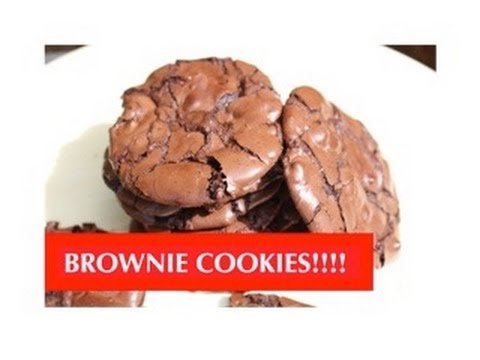 HOW TO BAKE BROWNIE COOKIES! ABEYGALE
