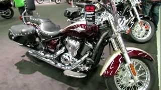 9. 2012 Kawasaki Vulcan 900 Classic LT at 2012 Montreal motorcycle show - Salon de la Moto de Montreal