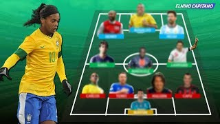 Video Tim Impian Ronaldinho ● 11 Pemain Sepak Bola Terbaik Versi Ronaldinho ● Elnino Capitano MP3, 3GP, MP4, WEBM, AVI, FLV April 2018