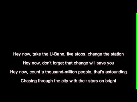 R.E.M.  - UBerlin Lyrics  tekst
