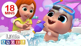 Video Baby Bath Time | Bath Song | Kids Songs and Nursery Rhymes by Little Angel MP3, 3GP, MP4, WEBM, AVI, FLV Januari 2019