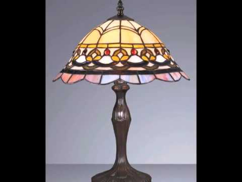 Tiffany Glass Handcrafted Table Lamp