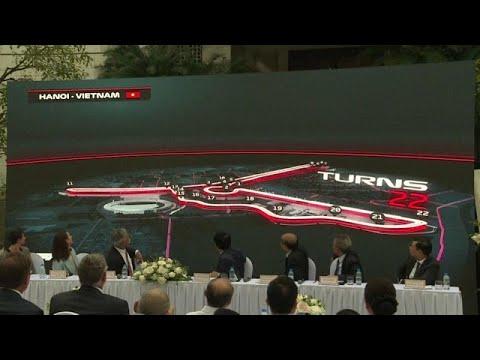 Prmiere: Formel-1-Rennen in Hanoi im April 2020