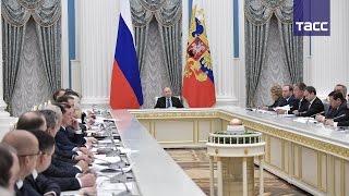 Заседание Совета по стратегическому развитию и приоритетным проектам. Полная версия