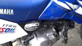 8. how to change oil on yamaha ttr 90