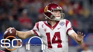 Jesse Palmer says Sam Darnold is \'still the first pick in the NFL Draft\' | SC with SVP | ESPN