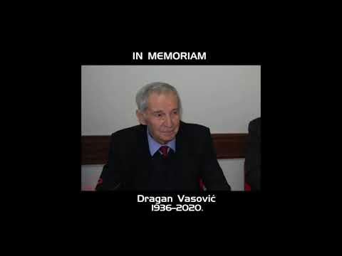 IN MEMORIAM- DRAGAN VASOVIĆ