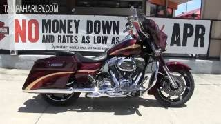 3. Used 2010 Harley Davidson CVO Street Glide for sale TAMPA Florida