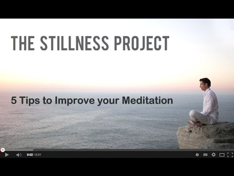 5 Tips to Improve Meditation