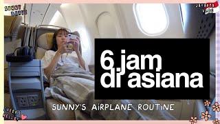 Video ✈️6 JAM DI ASIANA AIRLINE ~! OMG IGA BAKAR PENYET🙈❤️ MP3, 3GP, MP4, WEBM, AVI, FLV September 2018