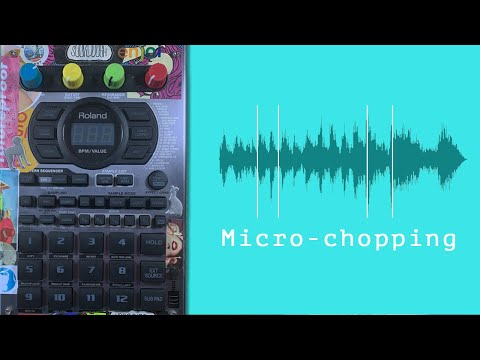 How to make beats by micro-chopping records