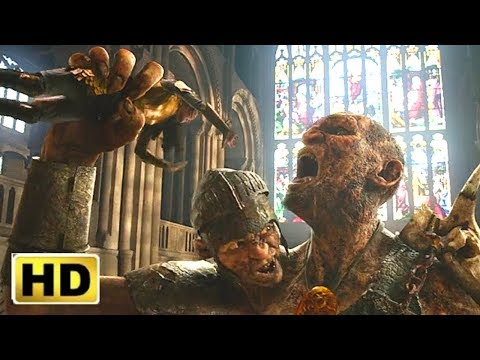 Jack the giant Slayer (2013) movie Final Fight Scene Spider movieclips