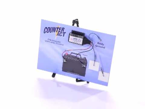 CounterAct GSL-2 Truck & SUV Electronic Rust Protector from Counteract CPR ID8051