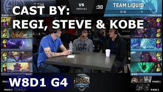 Video TSM vs TL - cast by Regi, Steve & Kobe (NA LCS Lounge) | Week 8 Day 1 S8 NA LCS Spring 2018 MP3, 3GP, MP4, WEBM, AVI, FLV Juni 2018