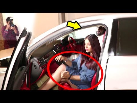 Abhishek Bachchan Saves Aishwarya Rai From OOPS Moment In Public