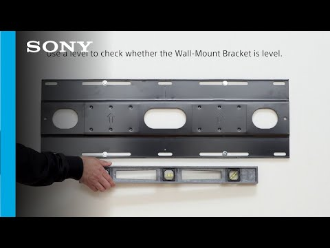 Unbox, Setup and Wall Mount Guide | Sony A9G MASTER Series BRAVIA OLED 4K HDR TV